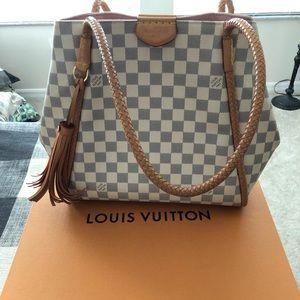 Louis Vuitton Propriano D. Azul Shoulderbag
